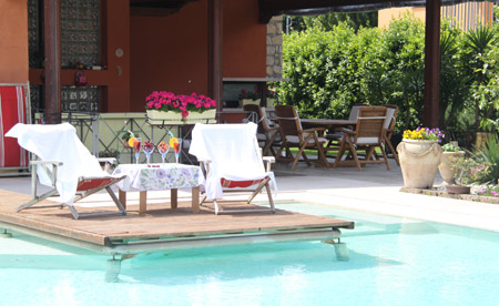 Bed and breakfast a Verona con piscina